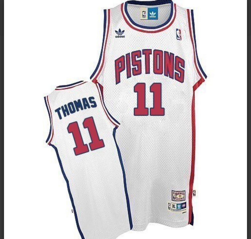 Image of Isiah Thomas Detriot pistons throwback Jersey