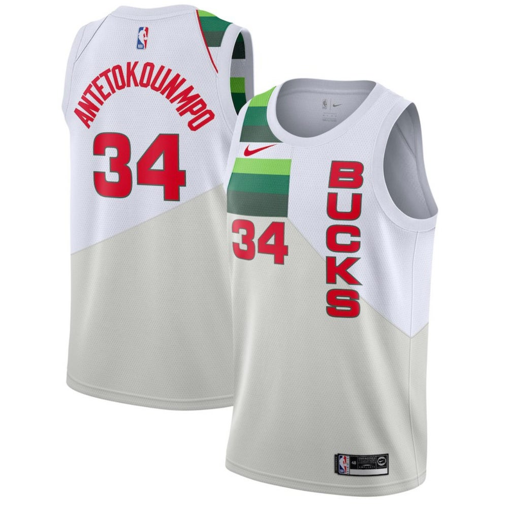 Image of Giannis Milwaukee bucks city Jersey