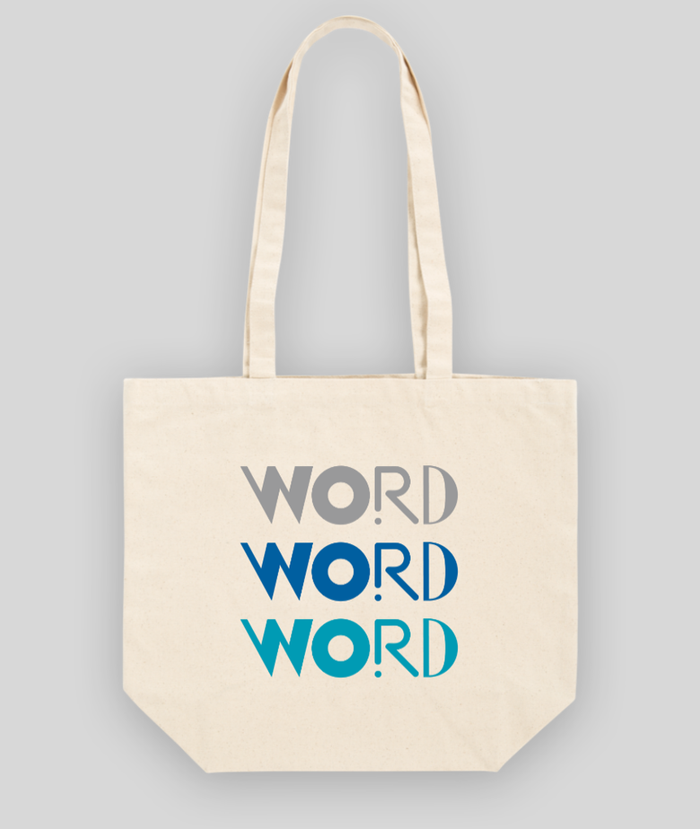 Image of Word Tote Bag