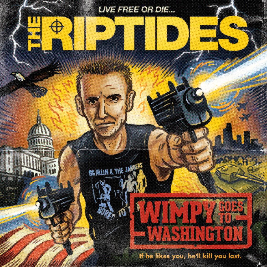 "Image of THE RIPTIDES - WIMPY GOES TO WASHINGTON (7"")"