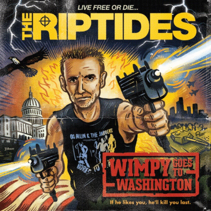 "Image of THE RIPTIDES - WIMPY GOES TO WASHINGTON (7"")"