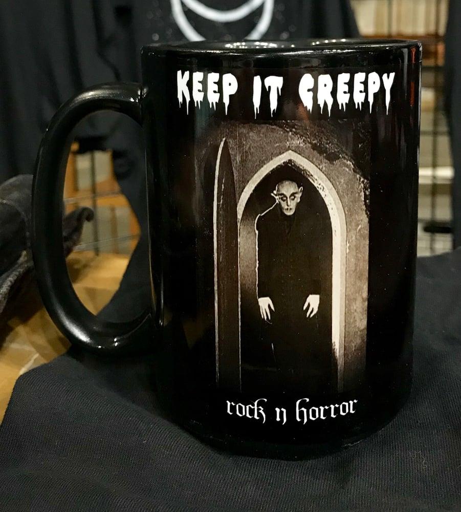 Image of Keep It Creepy Mug + Tee Bundle
