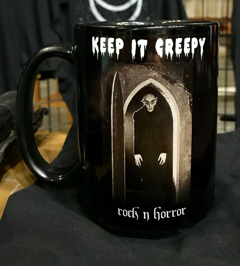 Image of Keep It Creepy Mug + Tee Bundle