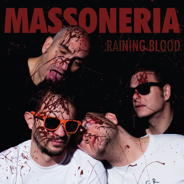 "Image of MASSONERIA RAMONICA - RAINING BLOOD (7"")"