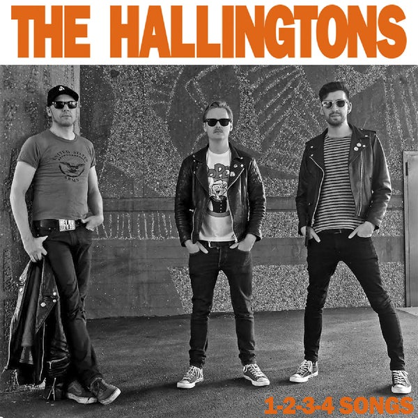 "Image of The Hallingtons - 1-2-3-4 Songs (7"")"
