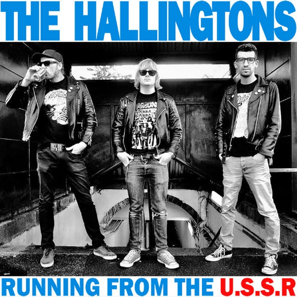 "Image of THE HALLINGTONS - RUNNING FROM THE U.S.S.R (7"")"
