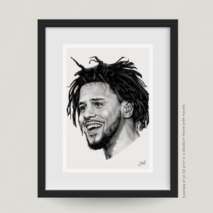 "Image of ""J-COLE"" - PRINT"