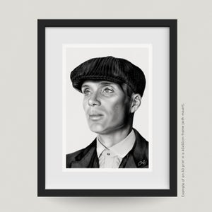 "Image of ""THOMAS SHELBY"" - PRINT"