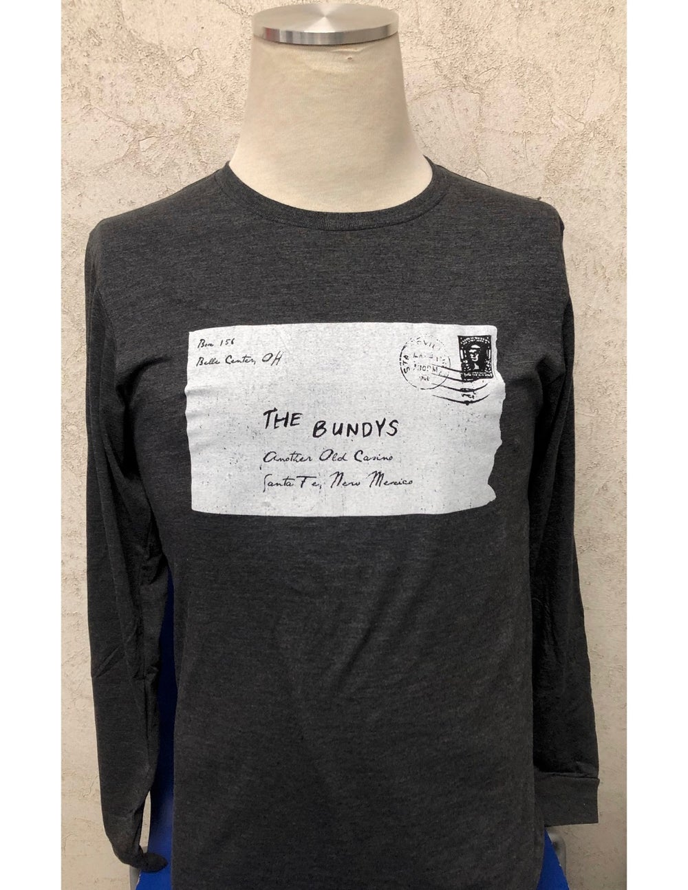 Image of 'Vintage Letter' Long-Sleeve T-Shirt
