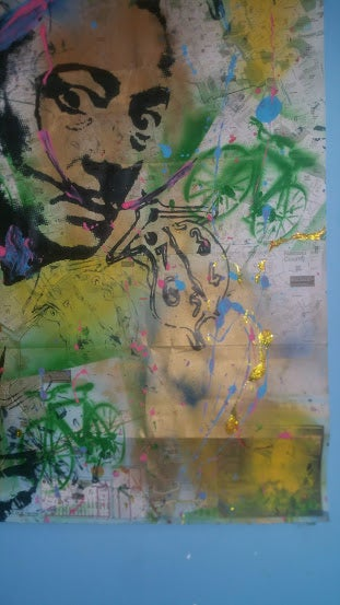 """Image of """"Salvador Dali. Persistence Of Memory."""" On NYC MAP."""