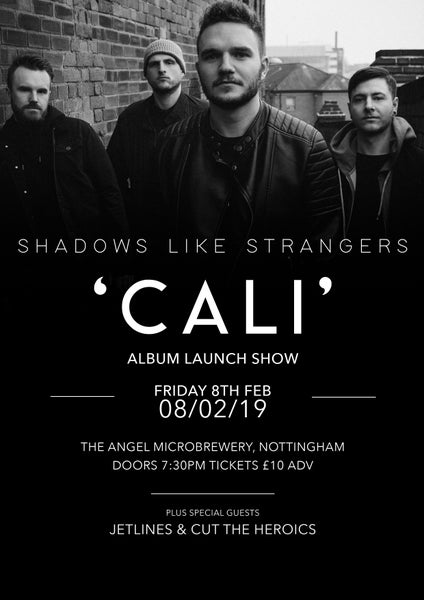 Image of Album Launch Party E-Tickets - The Angel Microbrewery - 08/02/19