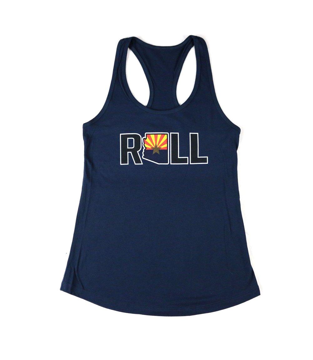 "Image of AGGRO Brand ""Roll AZ"" Tank (Ladies)"