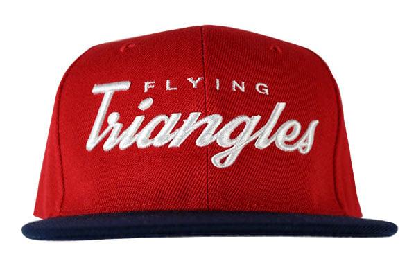 "Image of AGGRO Brand ""Flying Triangles"" Jiu-Jitsu Snapback Hat"
