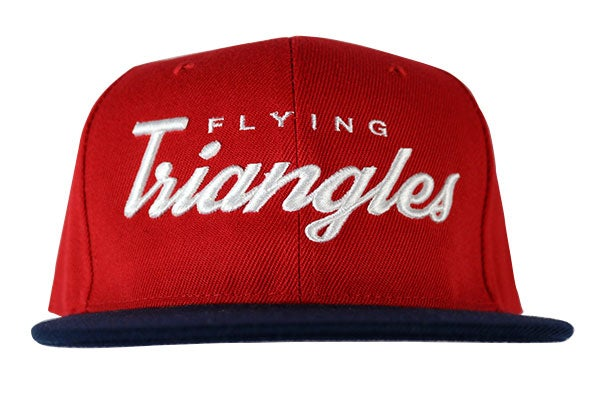 "Image of AGGRO Brand ""Flying Triangles"" Jiu-Jitsu Snapback Hat"