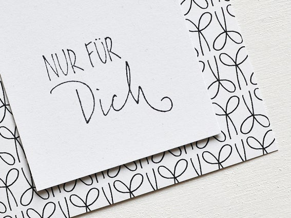 Image of STEMPEL Nur für Dich
