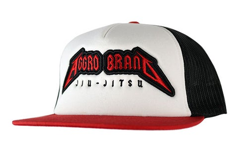"Image of AGGRO Brand ""Metal"" Trucker Hat"
