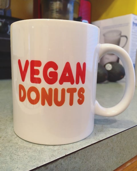 Image of Vegan Donuts 11 oz mug