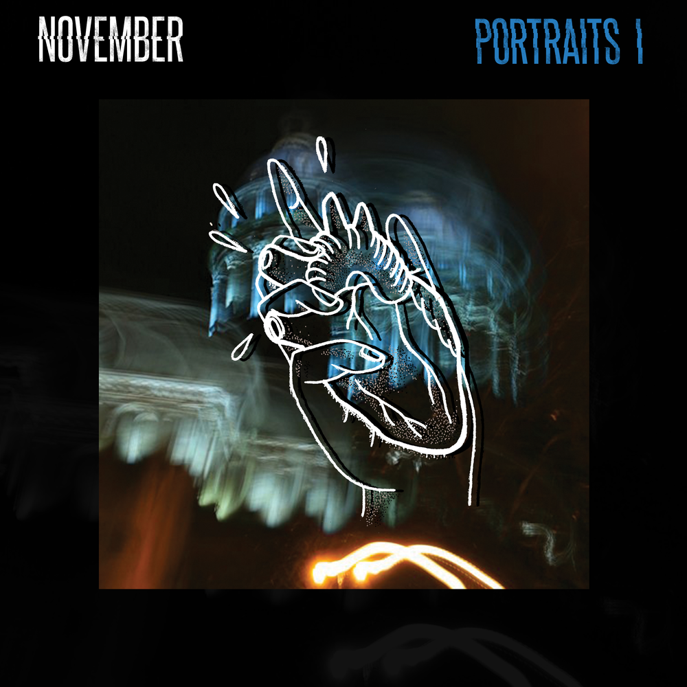 "Image of NEW LP ""PORTRAITS I"" limited edition color vynil"