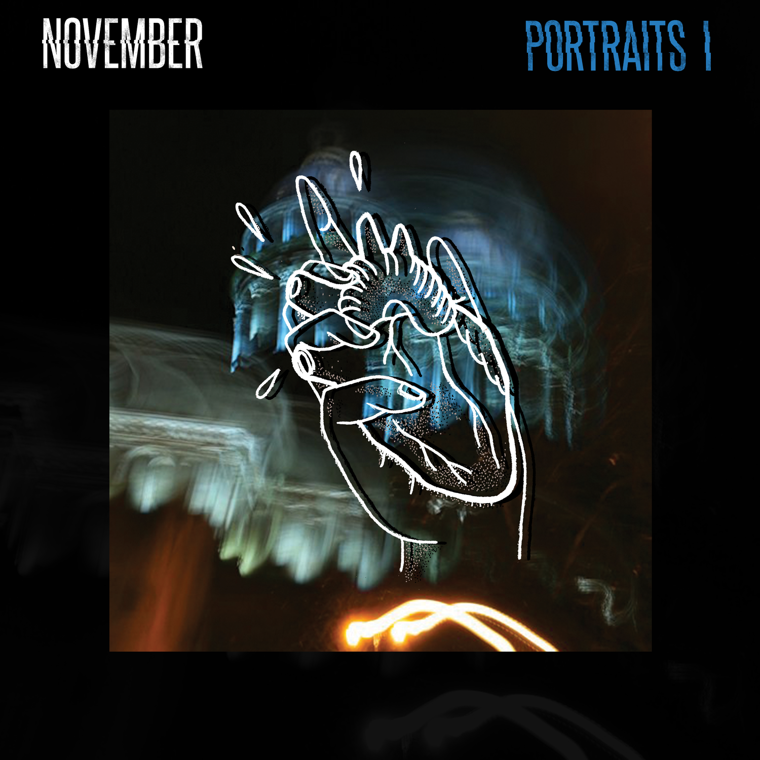 """Image of NEW LP """"PORTRAITS I"""" limited edition color vynil"""