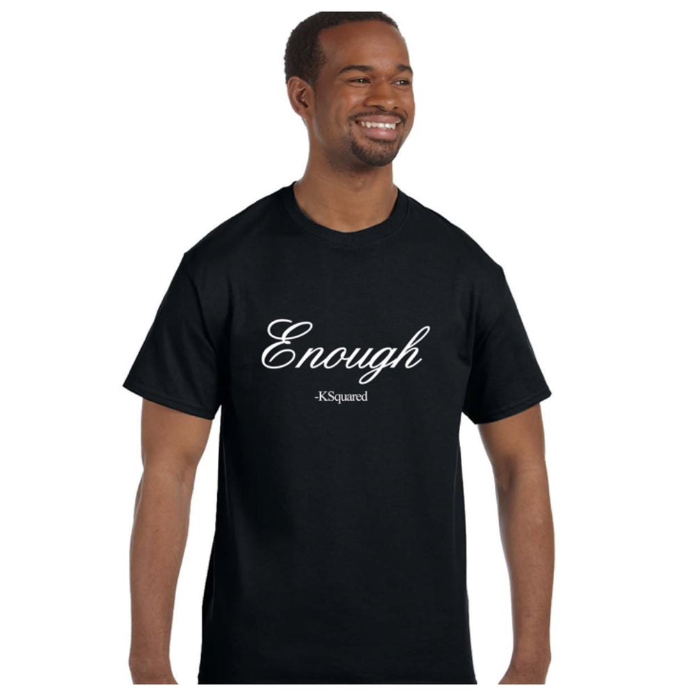 Image of Enough T-Shirt Crew neck