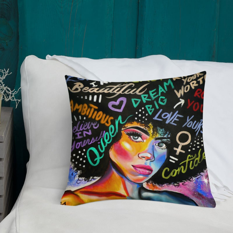 Image of Confidence - Pillow