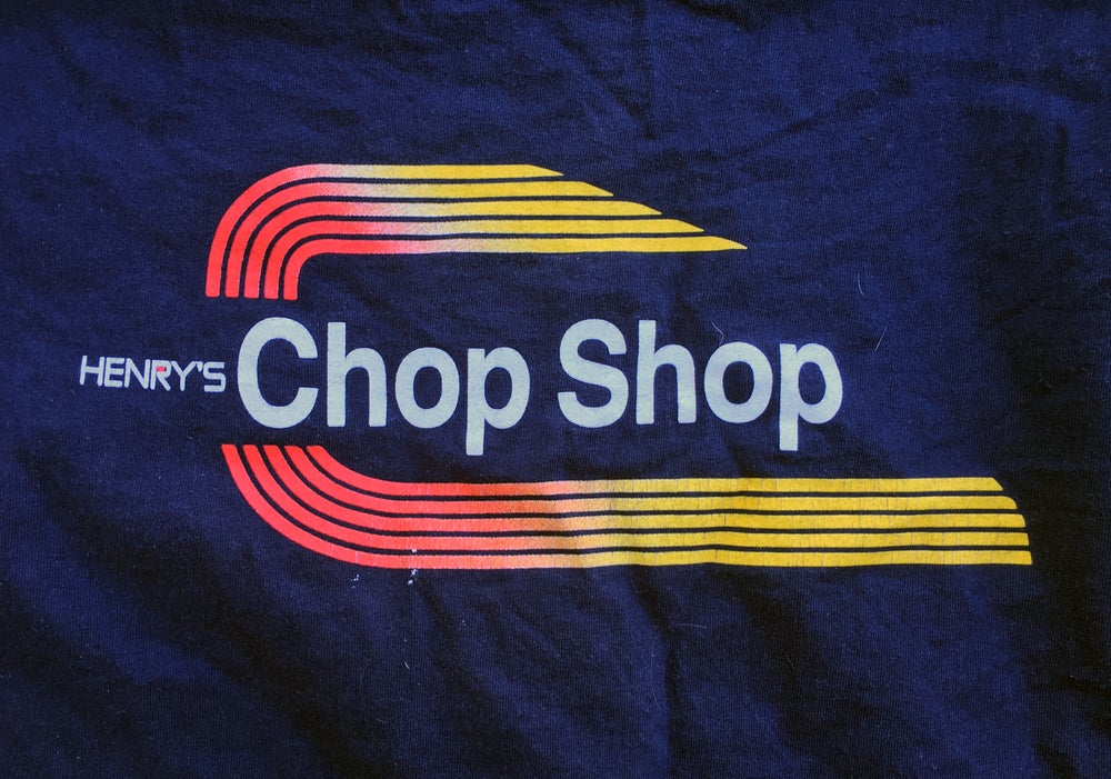 Image of CHOP SHOP T-SHIRT