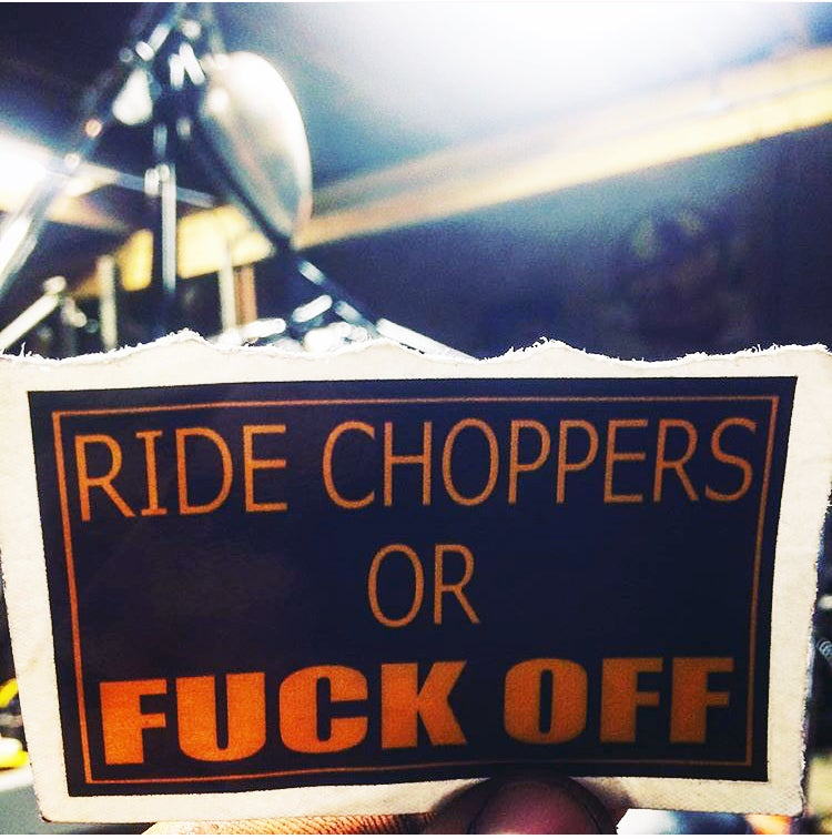 Image of RIDE CHOPPERS STICKER