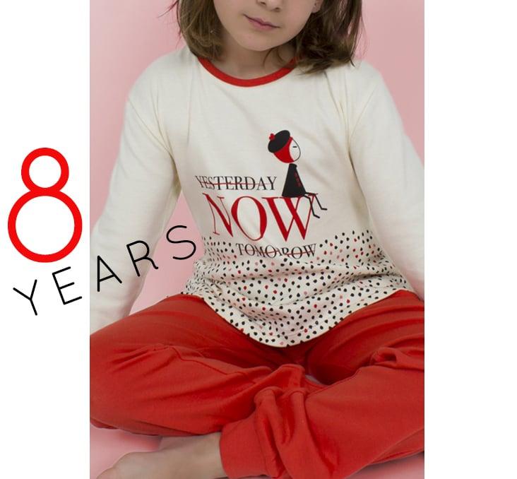 "Image of GIRL PIJAMA (8 YEARS) F|W 2018/19 ""NOW"""