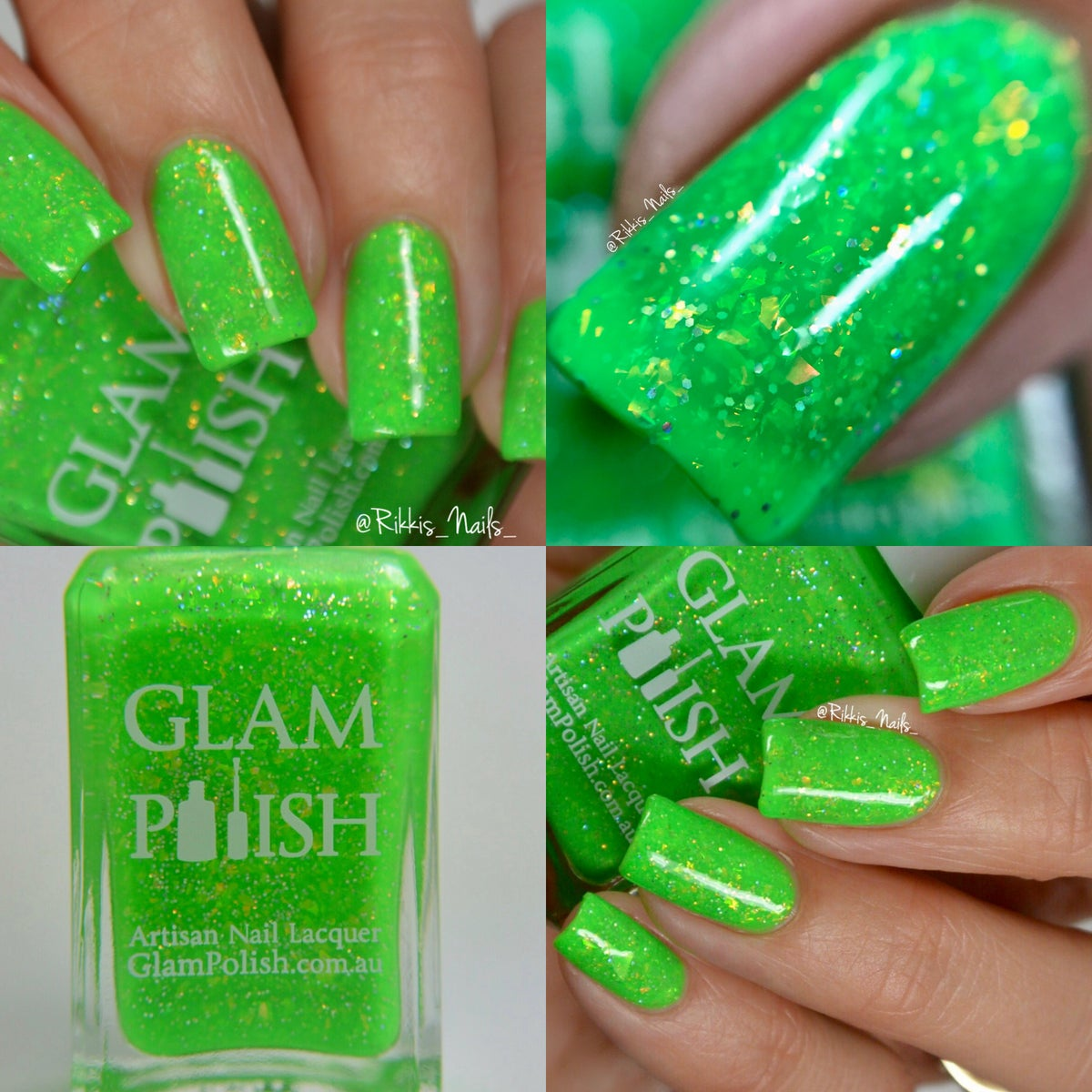 Image of All Of That Chit-Chat's Gonna Get Ya Hurt - Glam Polish Fans Facebook Group Exclusive