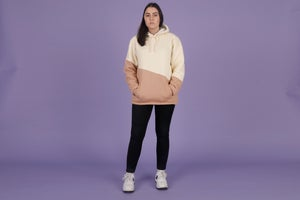 Image of Sherpa Color Block Hoodie