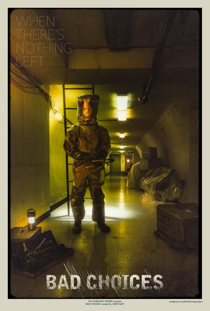 Image of A Bunker Underneath; Bad Choices Project Inkjet Poster Art Print