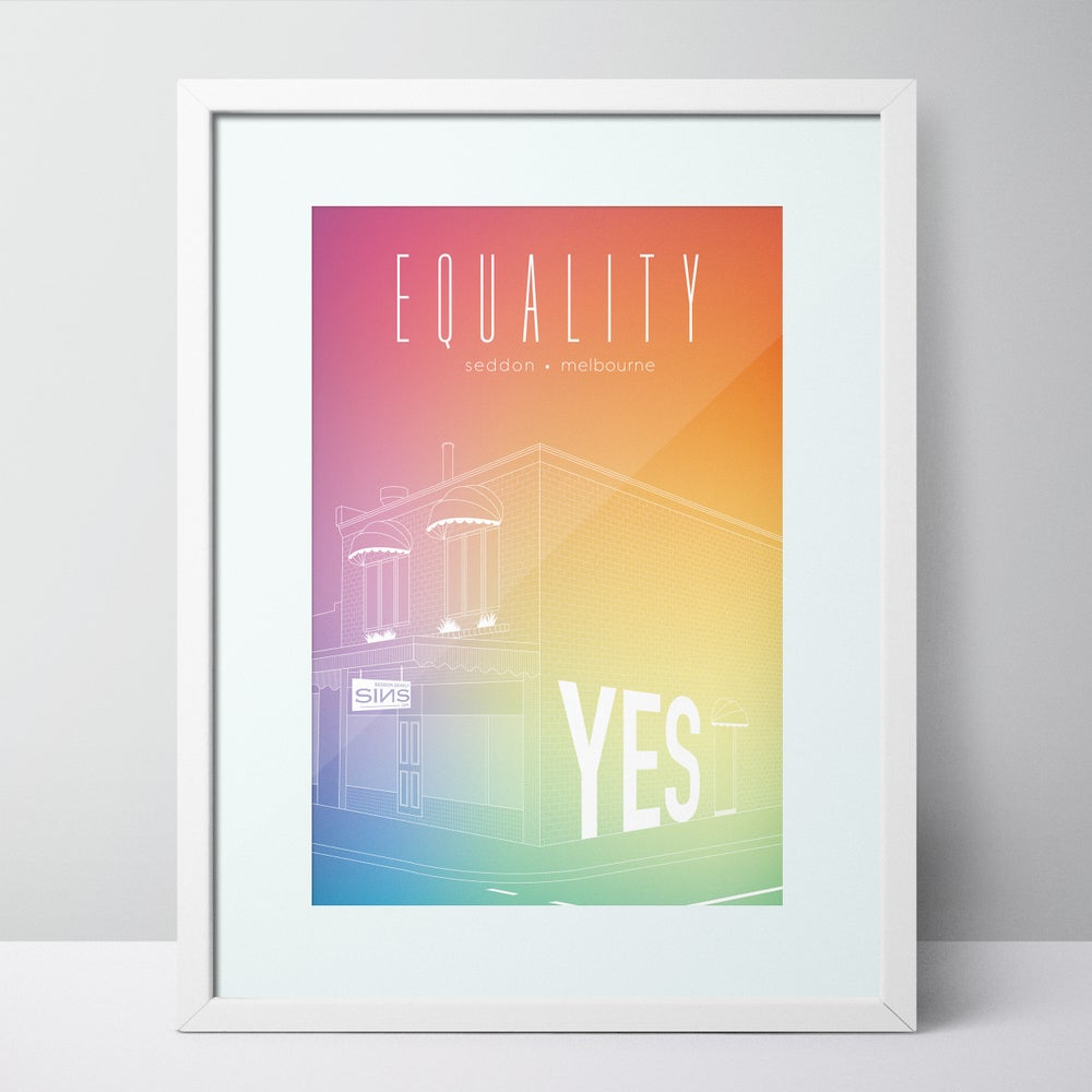 Image of 'Equality' - Special Edition Seddon Print