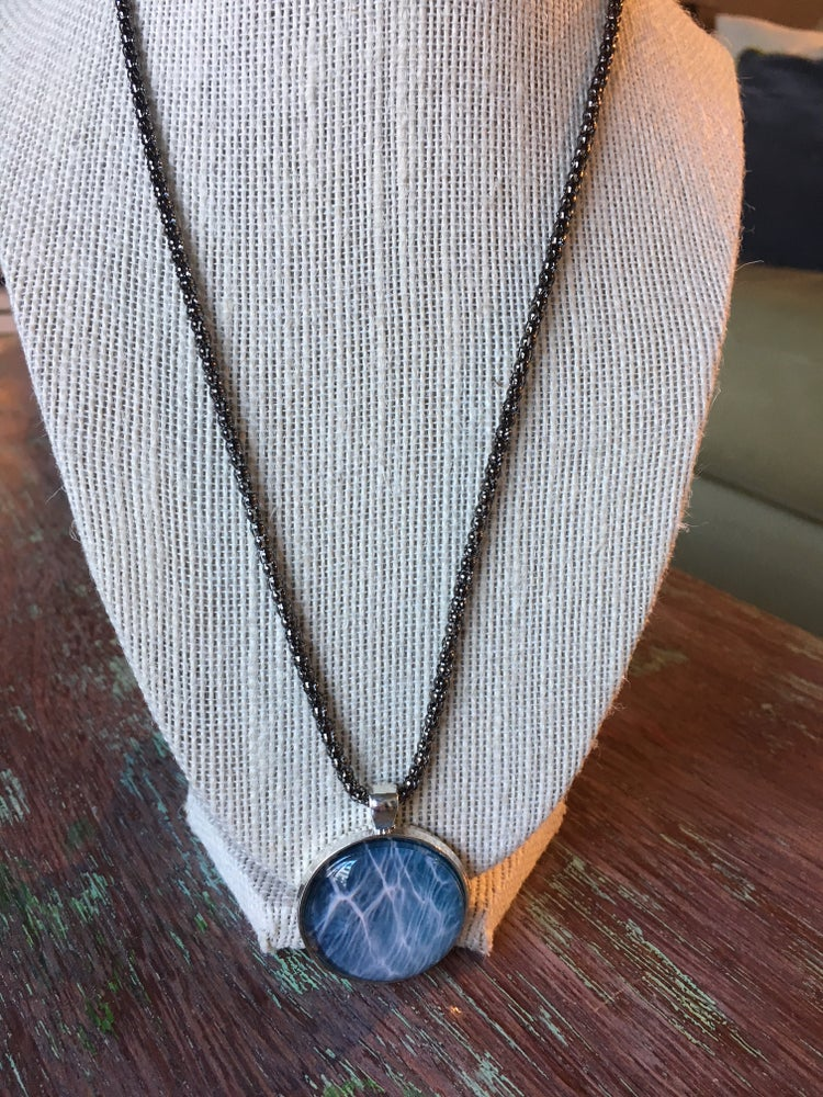 Image of Pendant Necklace, Water inspired.