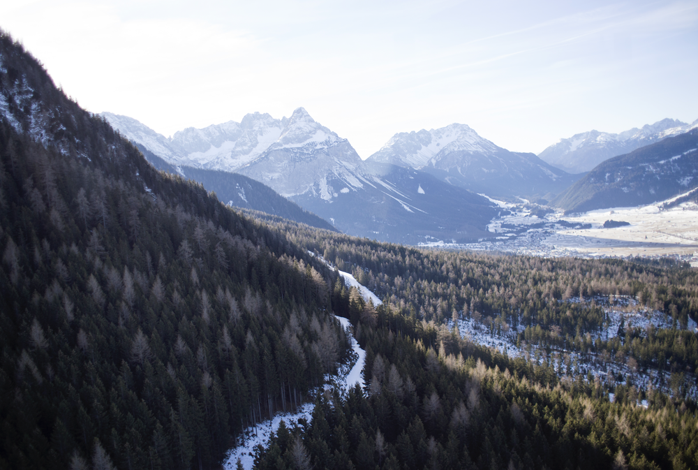 Image of Down from Zugspitze