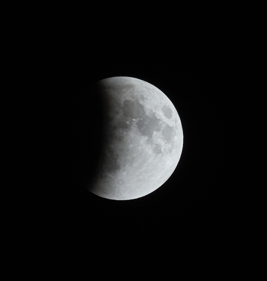 Image of Blood Moon B&W