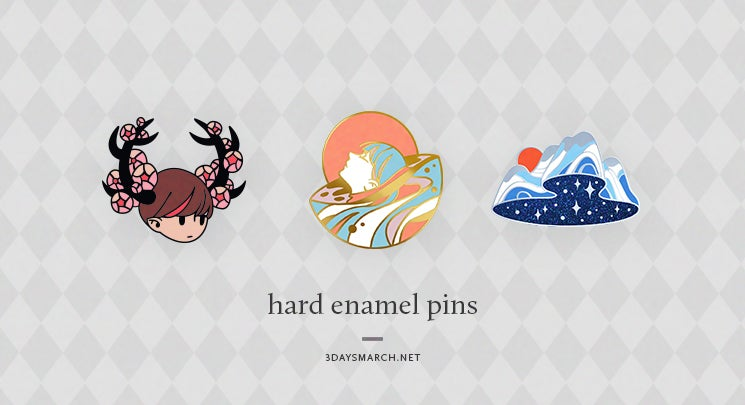 Image of Hard enamel pins