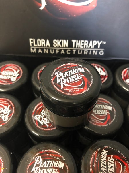 Image of Platinum Rose - Flora Skin Therapy Manufacturing (.25 oz/7.5mL)