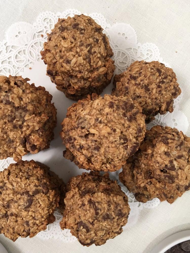Image of Chocolate-Chocolate Chip Oatmeal Cookies