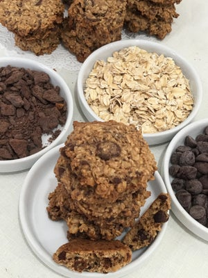 Image of Chocolate-Chocolate Chip Oatmeal Cookies