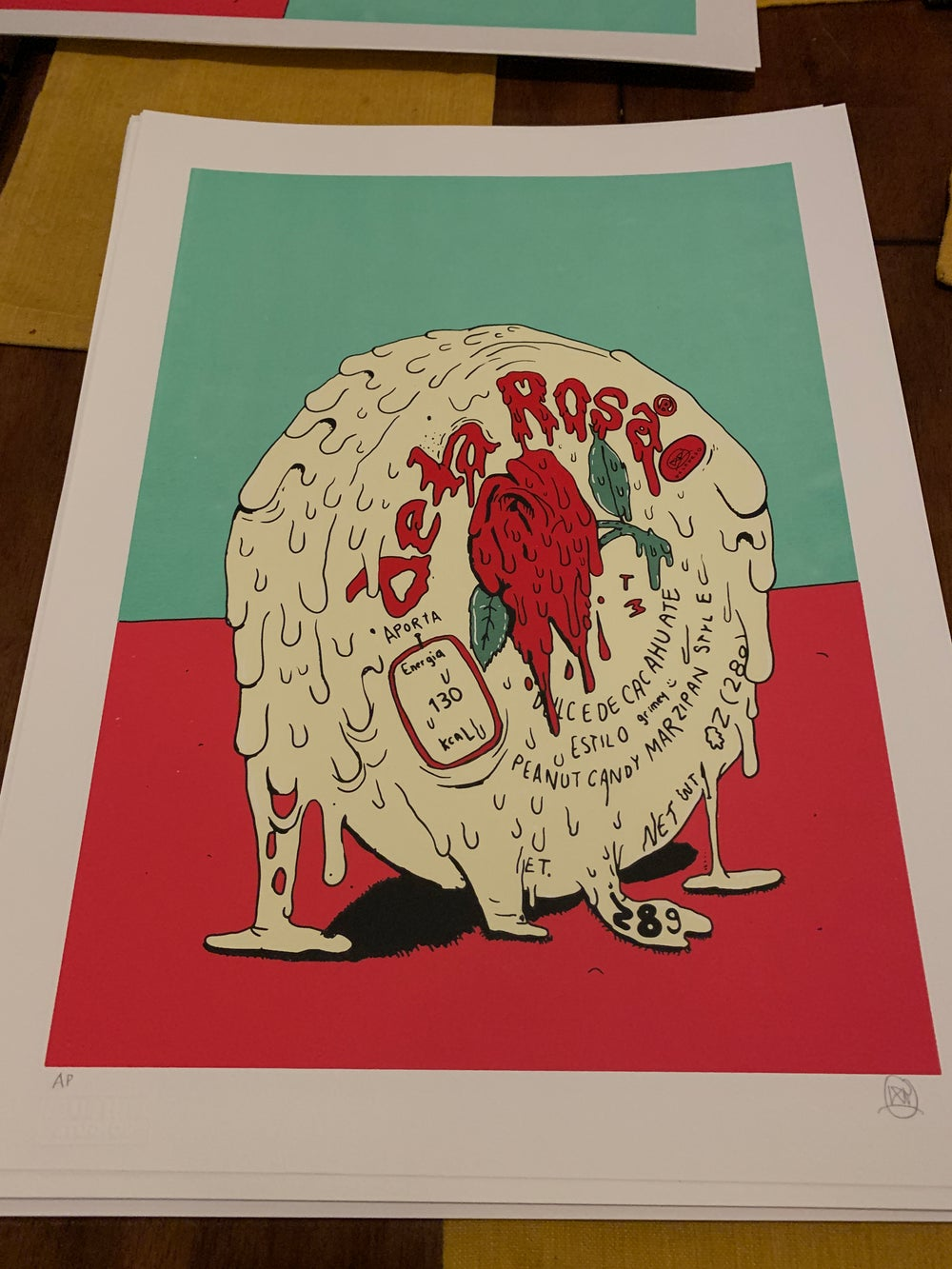 Image of GRIMEY MAZAPAN SCREENPRINT