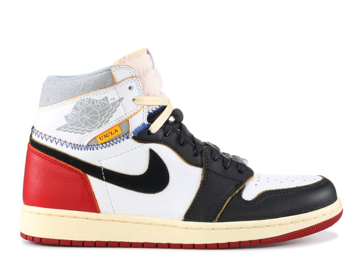 "Image of AIR JORDAN 1 RETRO HI NRG/UN ""UNION"""