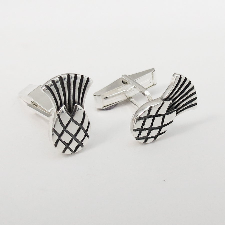 Image of Thistle Cufflinks