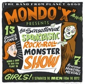 Image of OUT NOW LP. Mondo X : Thee Sensational Spooktastic RnR Monster Show.  Ltd Edition.