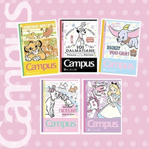 Image of Campus B5 Lined Notebook Disney Series