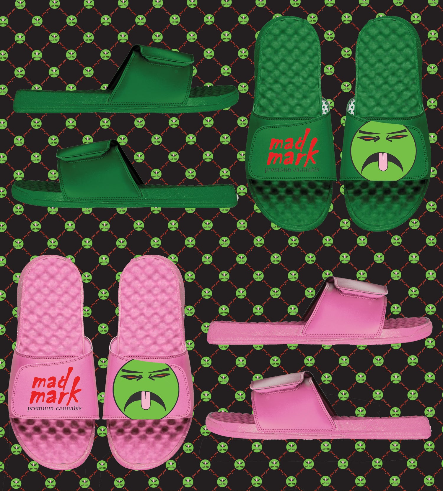 Image of mad mark monochromatic slides