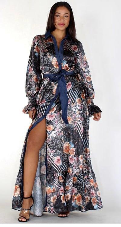 Image of Sassy Maxi Dress