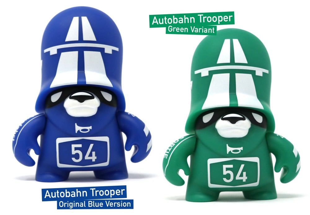 Image of Autobahn Trooper / vinyl toy