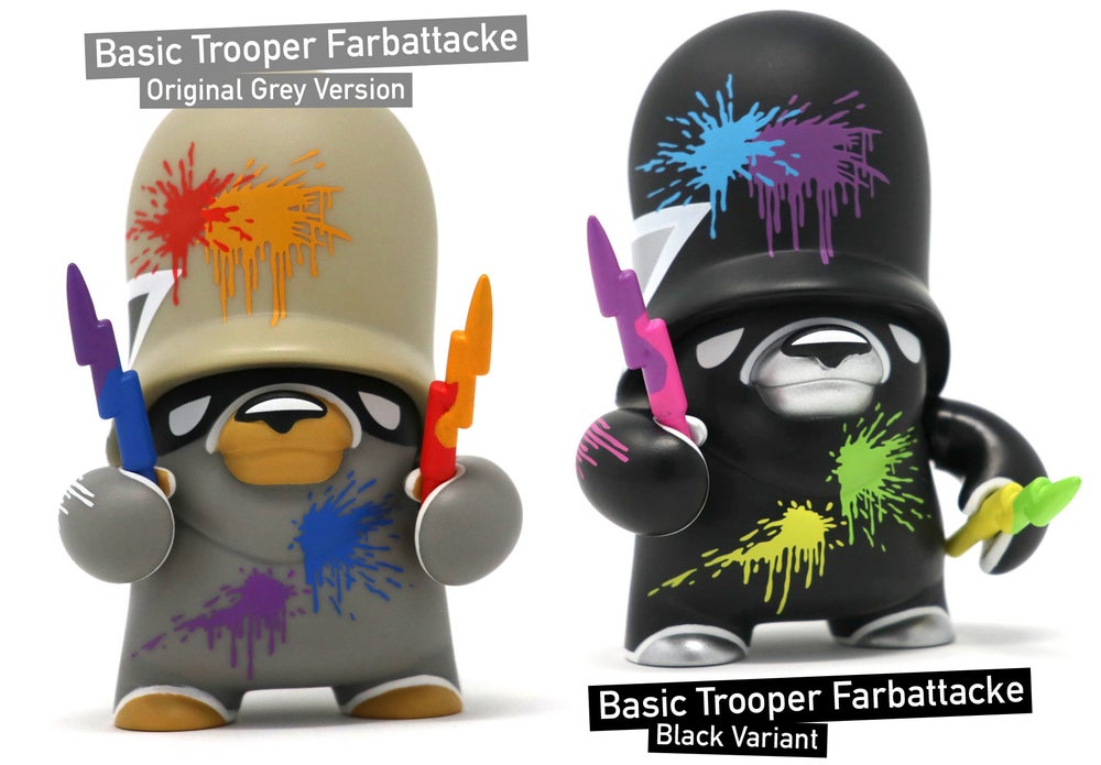 Image of Basic Trooper Farbattacke / vinyl toy