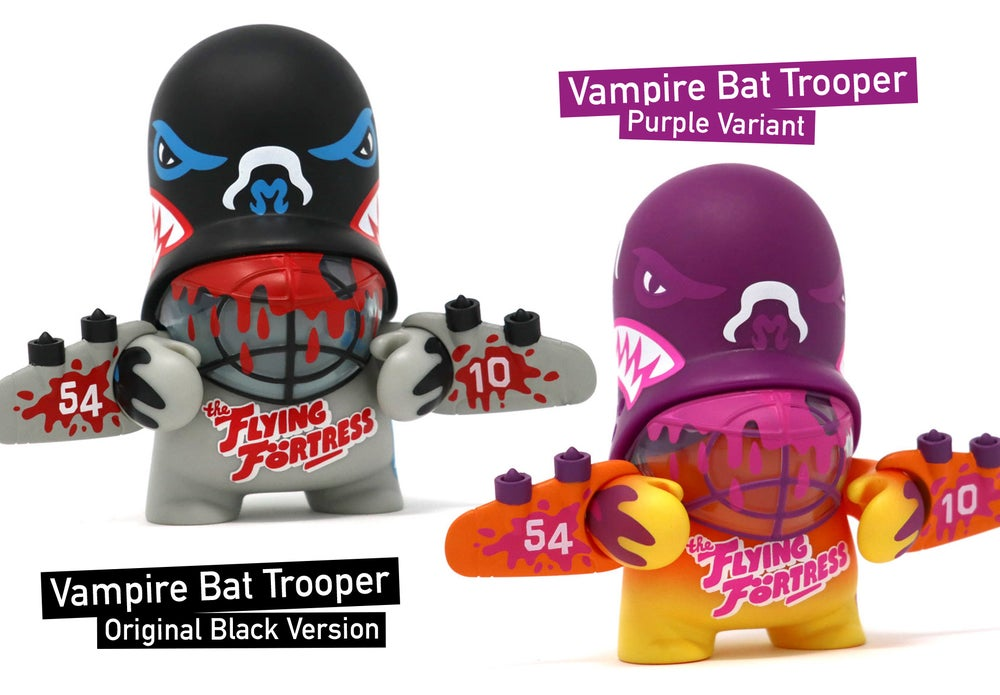 Image of Vampire Bat Trooper / vinyl toy