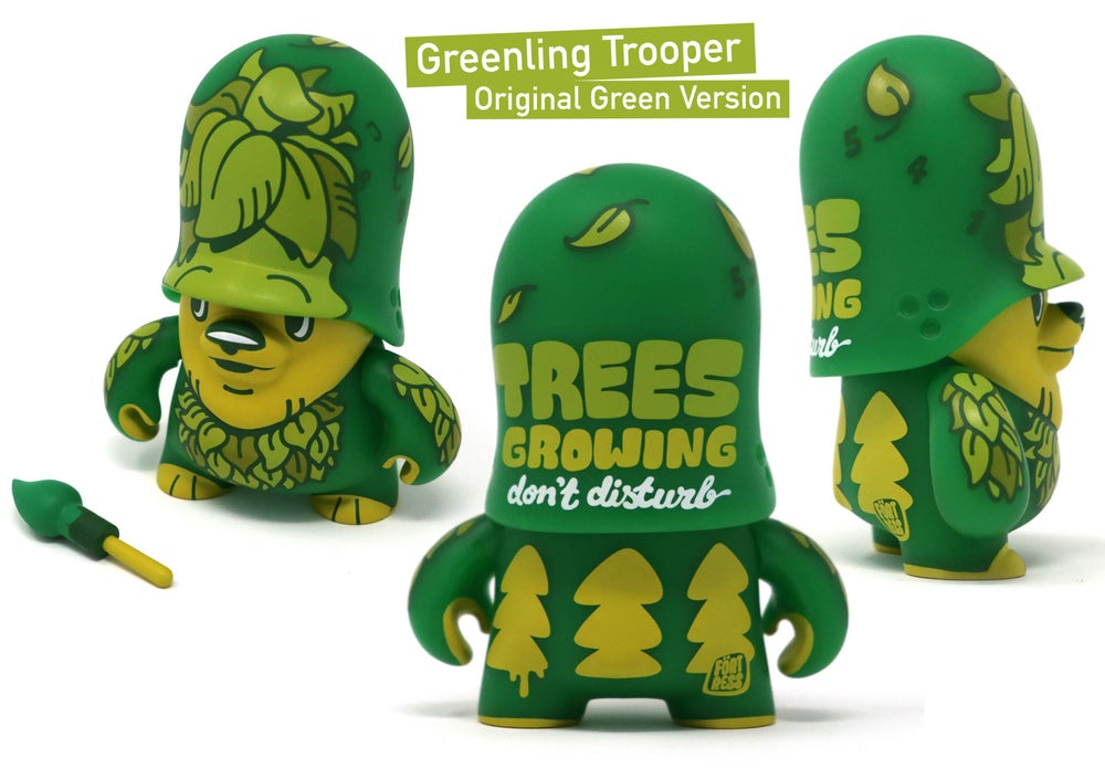 Image of Greenling Trooper / vinyl toy